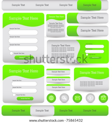 web designing login windows forms buttons