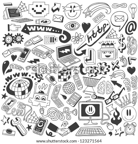 Web doodles collection