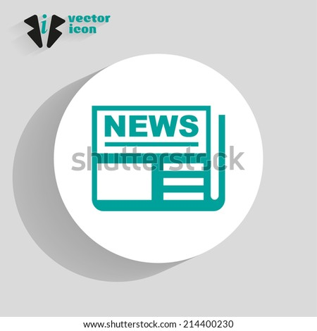 web icon on a gray background - stock vector
