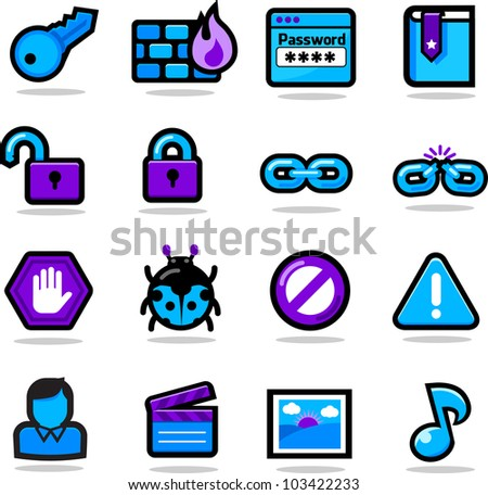 Web Icon Set B