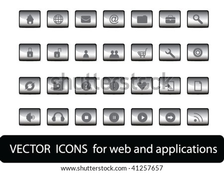 web icons for web and applications