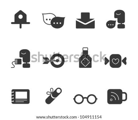 Web Icons - Universal - stock vector