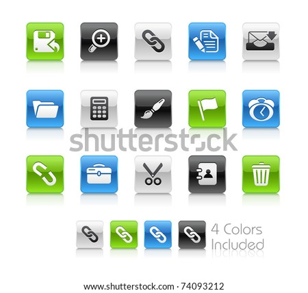 Web Interface Icons // Clean Series -------It includes 4 color versions for each icon in different layers ---------