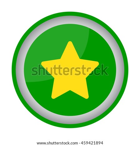 Web line icon. Star (Favorit)