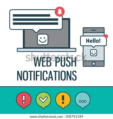 Notification icons for dating websites