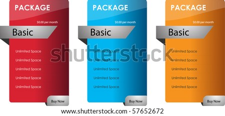 web sale banners - stock vector