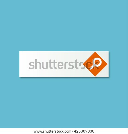Web search. Vector illustration - stock vector