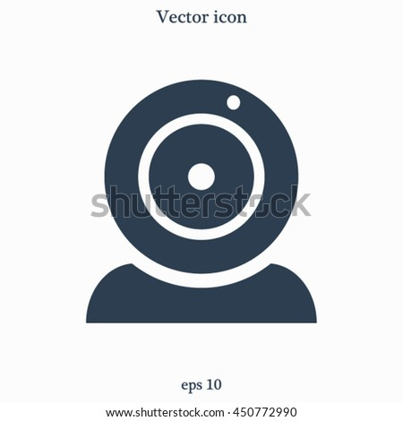 Webcam vector icon