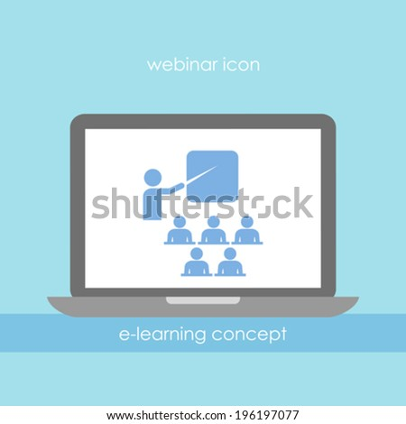 Webinar Icon Stock Images, Royalty-Free Images & Vectors ...