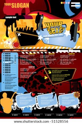 Horizontal Music Banners Set Octopus Stock Vector 598540547 ...