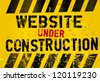 website under construction - stock