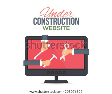 under construction page stock images royalty free images vectors shutterstock. Black Bedroom Furniture Sets. Home Design Ideas