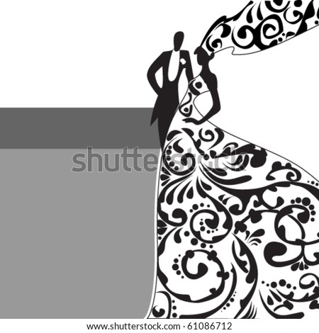 wedding - stock vector