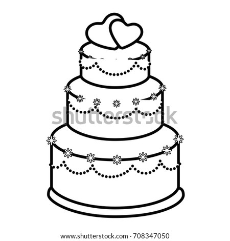 clipart pictures of wedding cakes wedding cake icon stock images royalty free images 12884