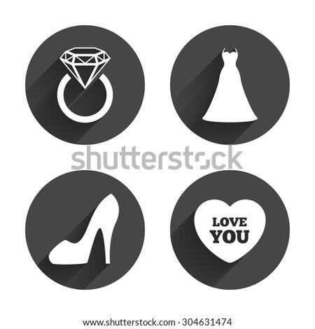 Female Shoes Black & White icon