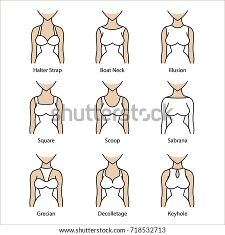 Different Types of Dress Neck Lines_Other dresses_dressesss