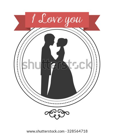 wedding frame design, vector illustration eps10 graphic