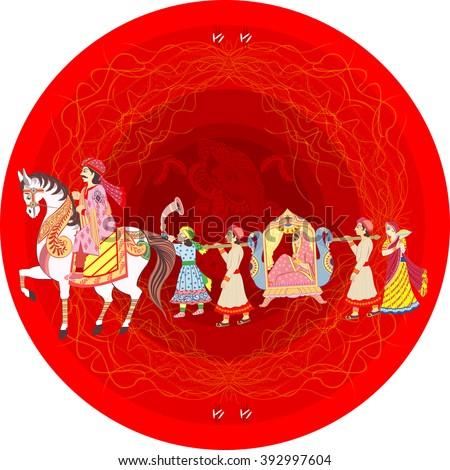 Indian Wedding Horse Images RoyaltyFree Images Vectors – All Indian Wedding Cards