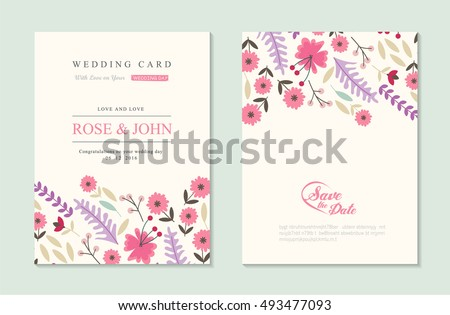 Floral Invitation Banners