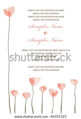 Wedding invitation panel stock images royalty free images vectors wedding invitation panel stopboris Images