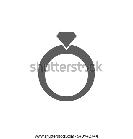 Wedding ring icon png alphabet