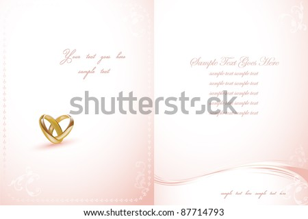 Wedding rings design