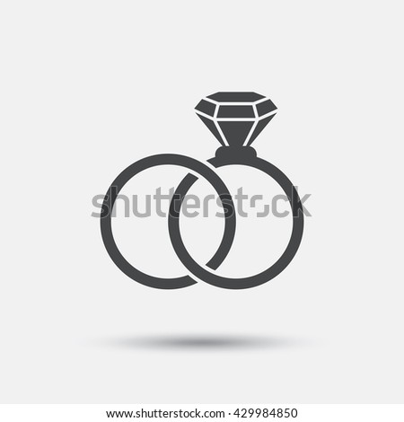 stock download with wedding photo two symbol male rings female symbols illustration of reflection