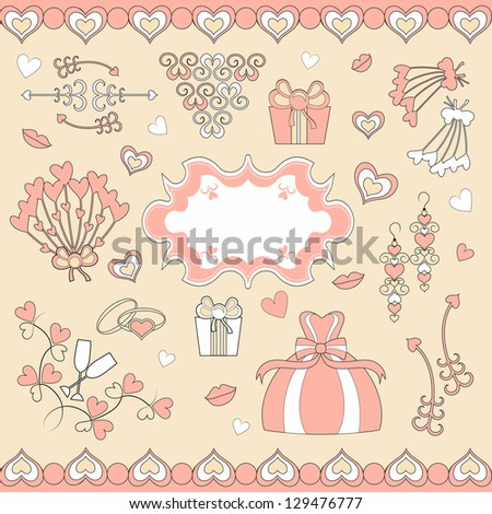 wedding set patterns for wedding decorations