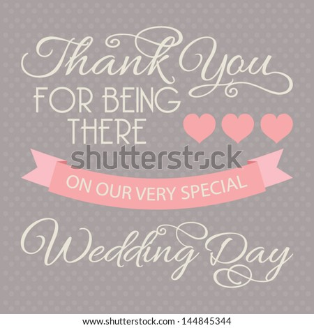 Wedding Thank You Card Stock Images RoyaltyFree Images Vectors
