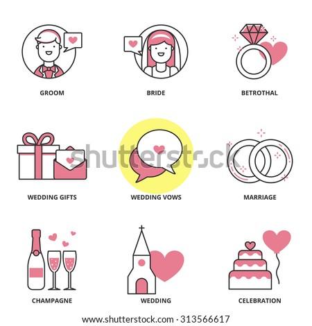 Wedding Symbols Stock Images, Royalty-Free Images ...