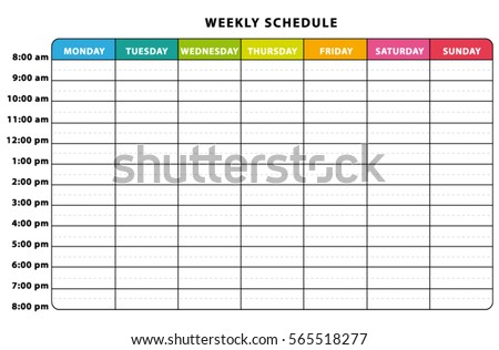 Weekly Planner Stock Images, Royalty-Free Images & Vectors ...