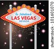 Welcome to Fabulous Las Vegas ,Vector - stock vector
