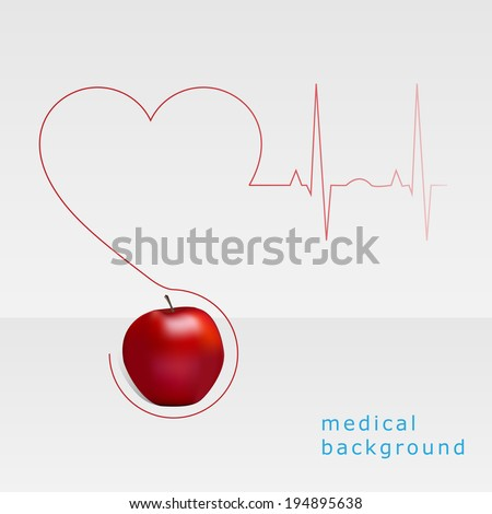 Wellness and medical symbol - stock vector