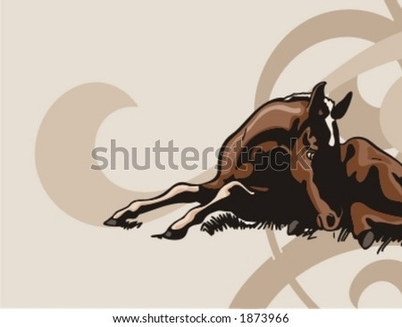 Western Background Series. - stock vector