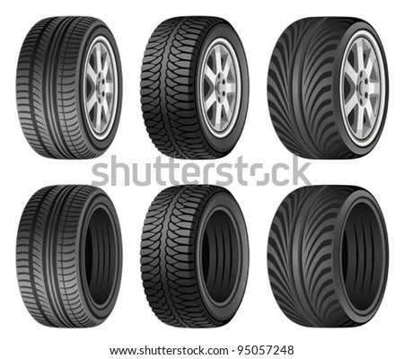Wheel - stock vector