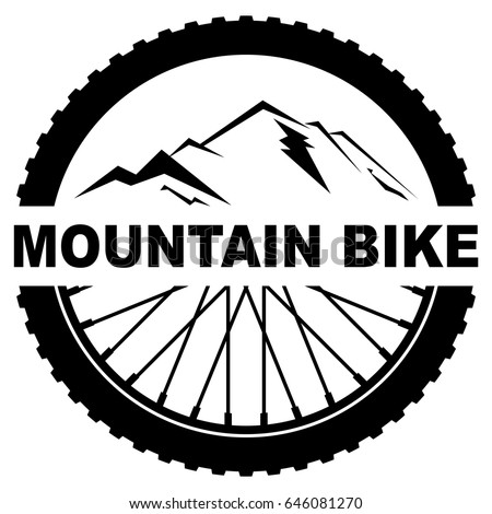 Wheel Mountain Bike Stock Vector 646081270 - Shutterstock