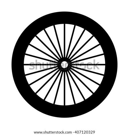 how to draw a bike wheel