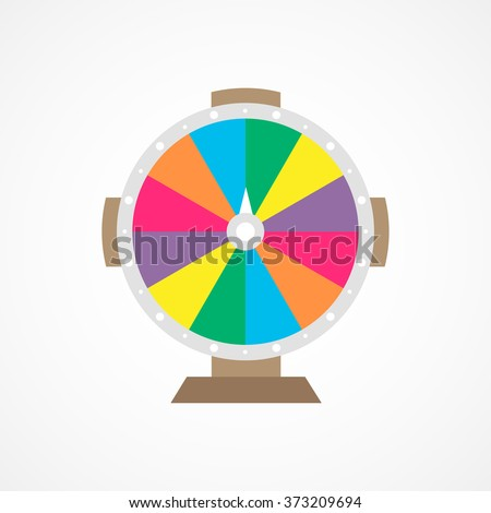 Wheel Of Fortune - stock vector