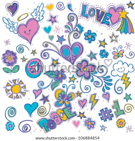 Whimsical Doodle - stock vector