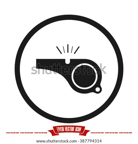 Whistle Icon. Whistle Icon Vector. Whistle Icon JPEG. Whistle Icon Object. Whistle Icon Picture. Whistle Icon Image. Whistle Icon Graphic.  Whistle Icon JPG. Whistle Icon EPS. Whistle Icon AI - stock vector