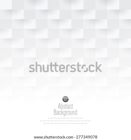 White abstract background vector. Can be used in cover design, book design, website background, CD cover, advertising. - stock vector