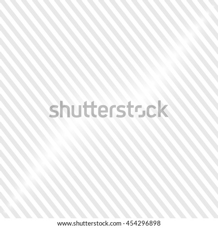 White background with gray white stripes - stock vector