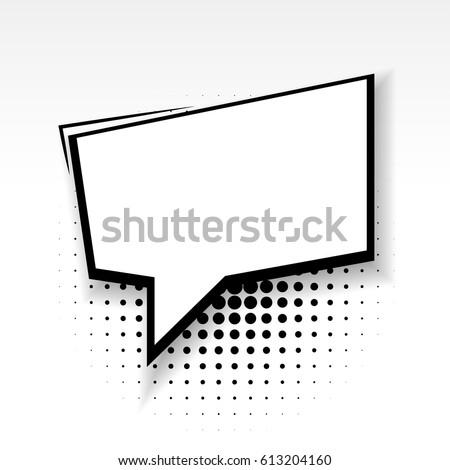 White Blank Square Template Comics Book Stock Photo (Photo, Vector ...