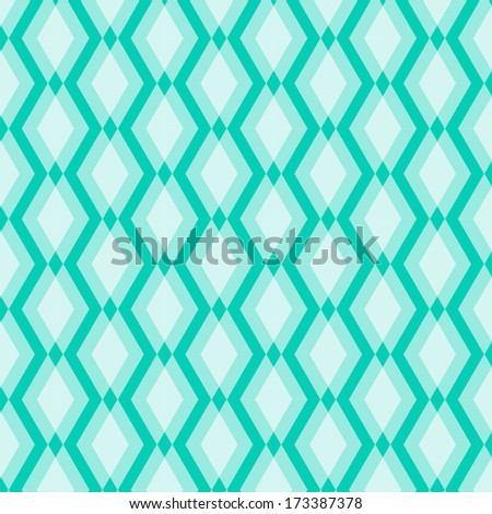 White blue Geometric seamless Pattern. Stereoscopic background for greeting card, wallpaper, furniture, fabric print. Vector ornament.
