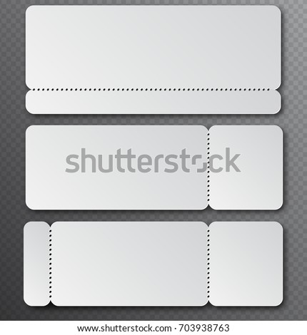 Blank Ticket Stub Stock Images RoyaltyFree Images  Vectors