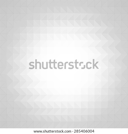 White geometric design.  - stock vector