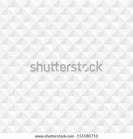 White geometric seamless background. Vector EPS10  - stock vector