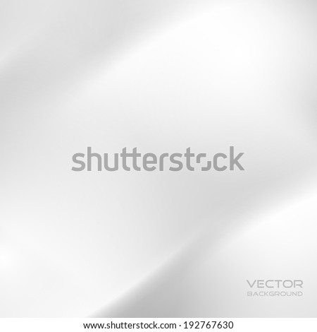 white (grey) abstract background for design. vector illustration. - stock vector