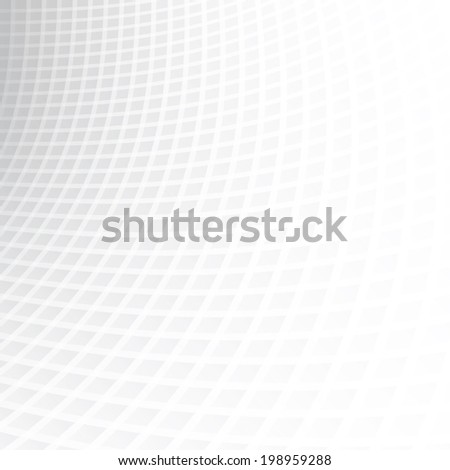 White & grey abstract perspective background, ideal for cover designs. - stock vector