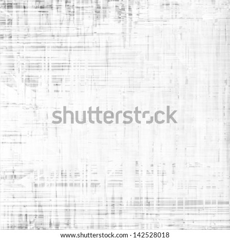 white grunge texture, vector background - stock vector